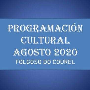 PROGRAMACIÓN CULTURAL AGOSTO 2020